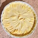 tarte pommes alsacienne prepa 4 - Tarte aux pommes à l'Alsacienne