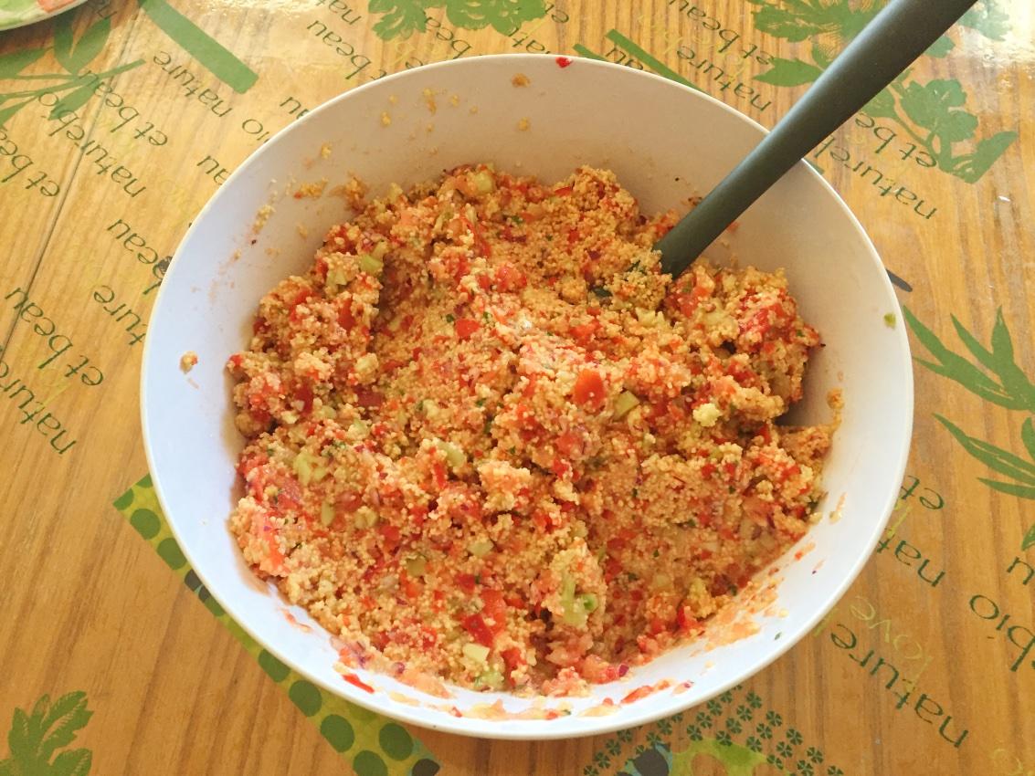 taboule prepa 6 - Taboulé maison (recette Companion)