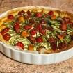 tarte chevre courgettes tomates lardons 1 - Flan pâtissier (recette Companion)
