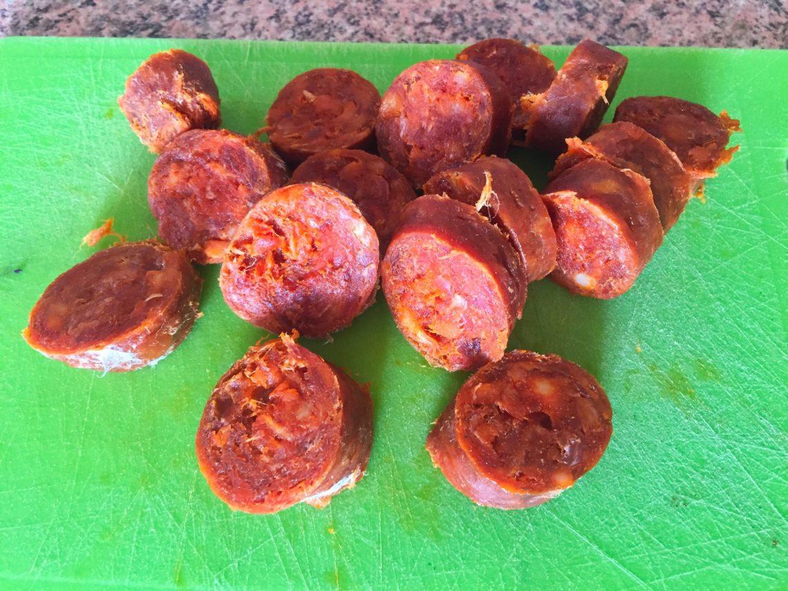 IMG 0853 - Pommes de terre au chorizo (recette Companion)