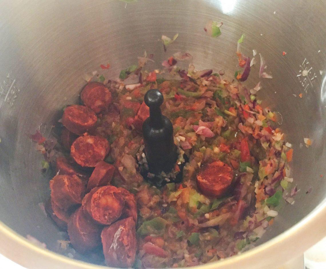 IMG 0855 - Pommes de terre au chorizo (recette Companion)