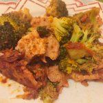 IMG 1307 - Poêlée de brocolis, poulet, tomates, oignon rouge