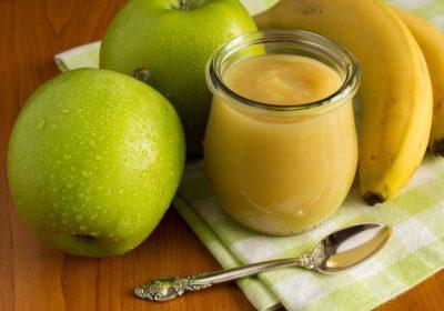 compote pommes bananes - Compote pommes / bananes / vanille (recette Companion)