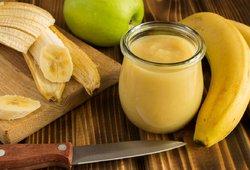 compote pommes bananes2 - Compote pommes / bananes / vanille (recette Companion)