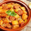 pommes de terre au chorizo - Poireaux vinaigrette (recette Companion)