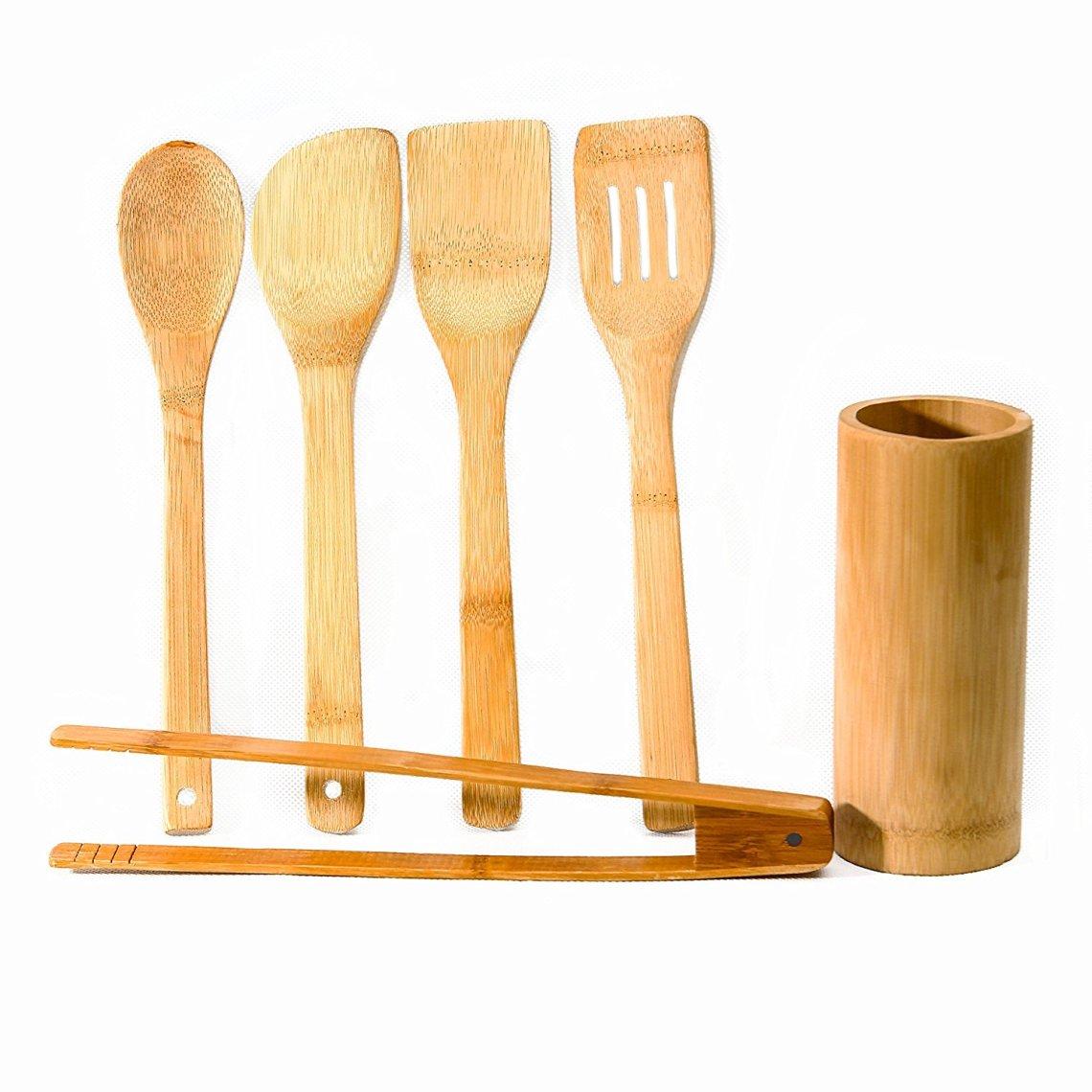 91G1nvNzszL. SL1500 - On a testé : Les ustensiles de cuisine en bambou Artecsis