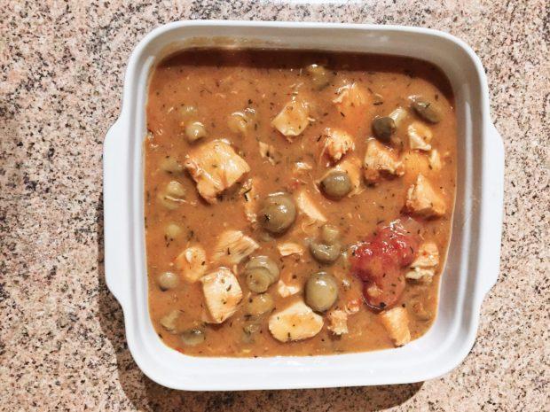 IMG 2218 620x465 - Poulet tomates et champignons (recette Companion)