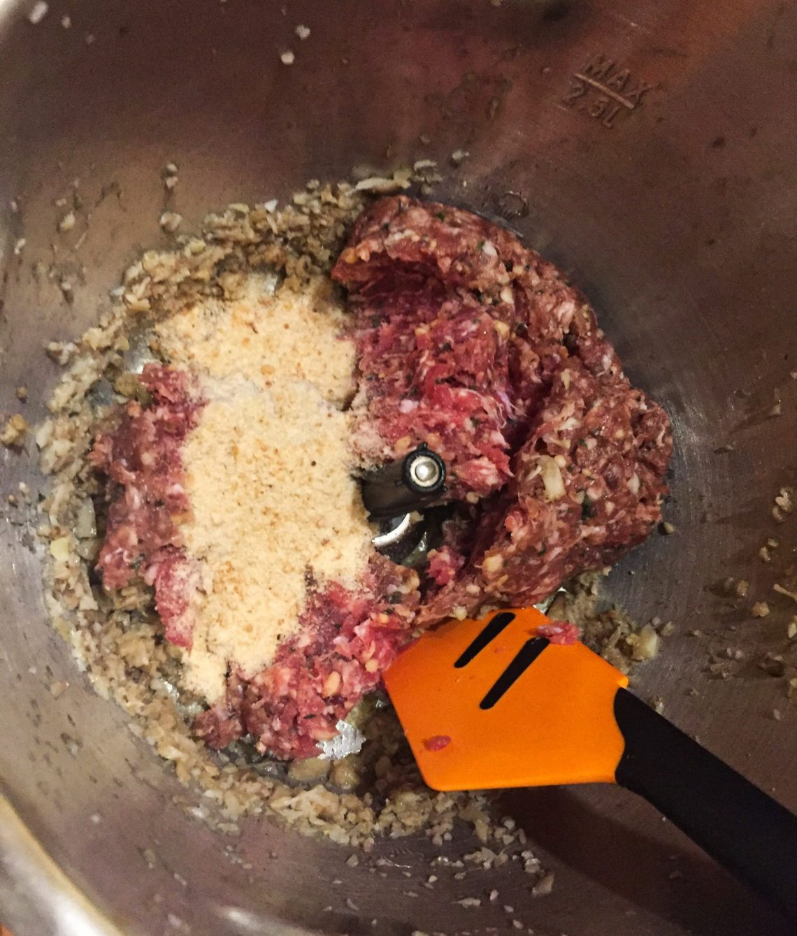 IMG 3128 - Champignons farcis (recette Companion)