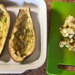 IMG 3787 - Aubergines farcies viande hachée, menthe, tomate, feta