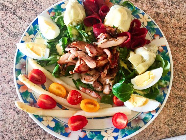 IMG 3369 - Salade Volaille & légumes