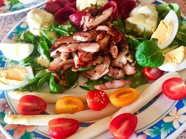IMG 3370 - Salade Volaille & légumes