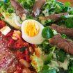IMG 4087 - Nouilles de konjac à la crème et au bacon grillé