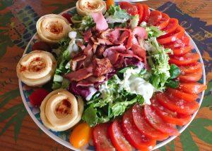 IMG 4099 - Salade poulet, bacon, tomate et artichaut