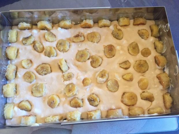 IMG 4922 620x465 - Gondolier - Gâteau banane, noisette confiture de lait