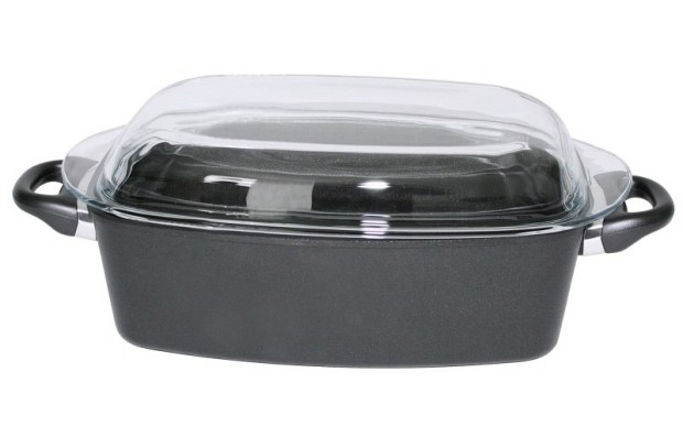 """cocotte rectangulaire pour roti en fonte d aluminium 620x388 - On a testé : la cocotte en fonte """"Ustensiles & Cuisine"""""""