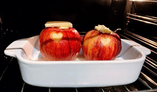 IMG 6116 620x365 - Pommes au four au miel