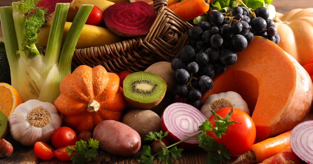 cover novembre - Dossier : Fruits et légumes de saison au mois de novembre