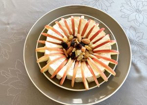 IMG 6630 - Camembert aux pommes et fruits secs
