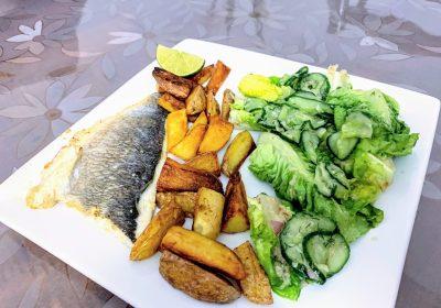 IMG 1739 scaled - Filet de dorade poêlé & salade scandinave