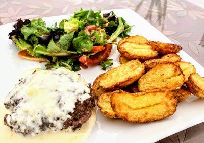IMG 1892 scaled - Steak haché de boeuf maison et sauce au camembert
