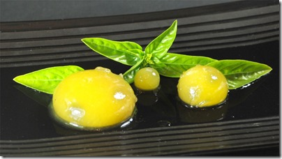 Spherification de mangue