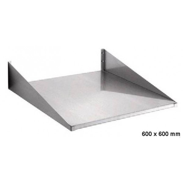 etagere murale inox pour four micro ondes equipements chr