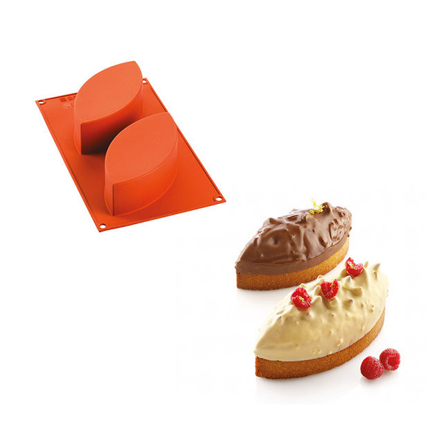 moule a cake x2 silicone michalak 170 x 80 x h50 mm silikomart professional
