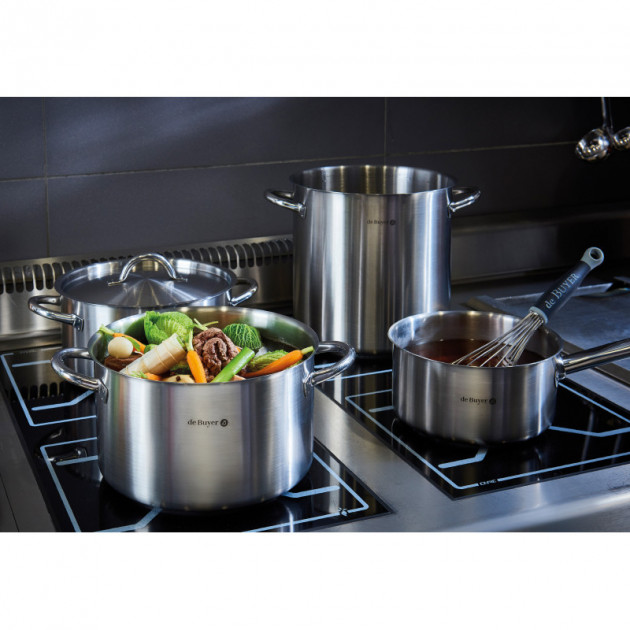 lot de 4 casseroles inox prim appety de buyer