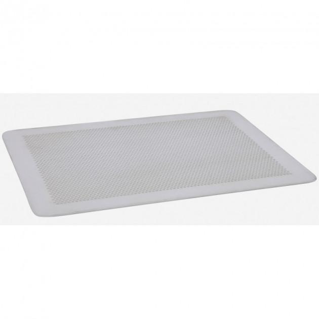 plaque de cuisson plate perforee 40 x 30 cm de buyer