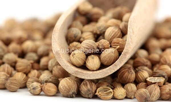 Coriandre graines