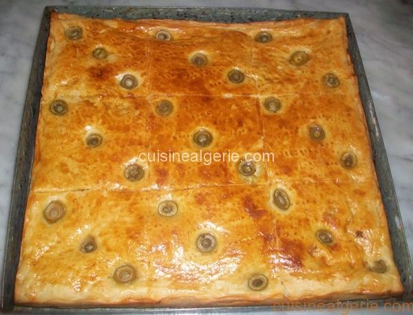 Pizza couverte
