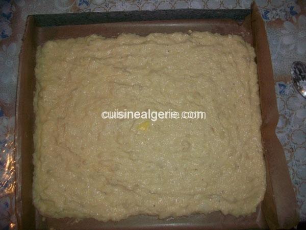 Roulé de purée de pommes de terre au thon