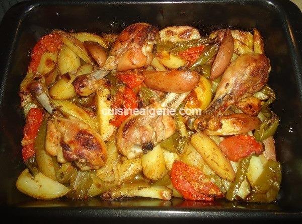 Petites pommes de terre rôties au four