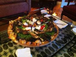 antipasto grilled artichoke and berata cheese