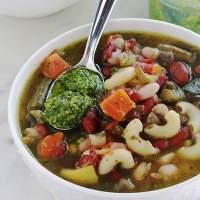 Soupe au pistou traditionnelle, recette provençale