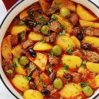 Boeuf mijoté aux pommes de terre, recette facile
