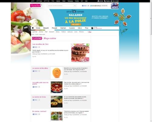On parle du blog chez Plurielles.fr