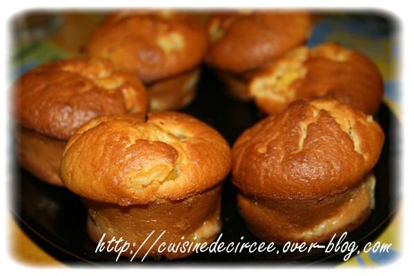Muffin à l'ananas et à la noix de coco