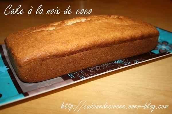 Cake à la noix de coco de Cuisine tout Simplement
