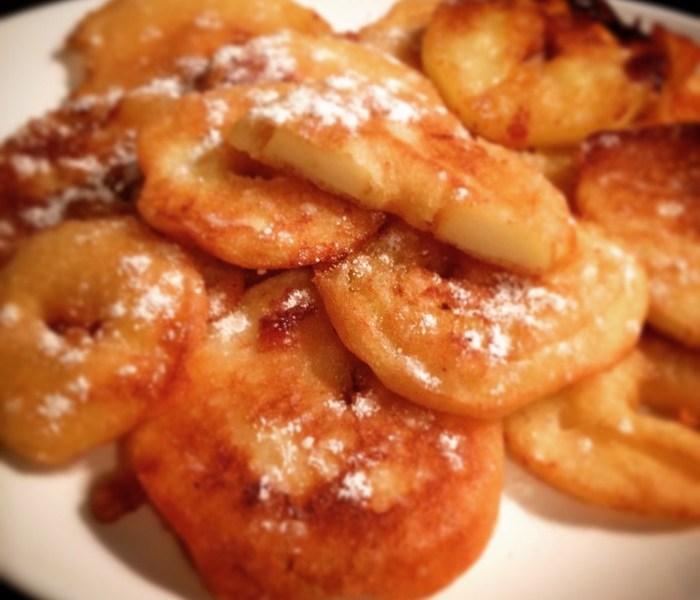 Vous prendrez bien un beignet de pomme pour Mardi Gras ?