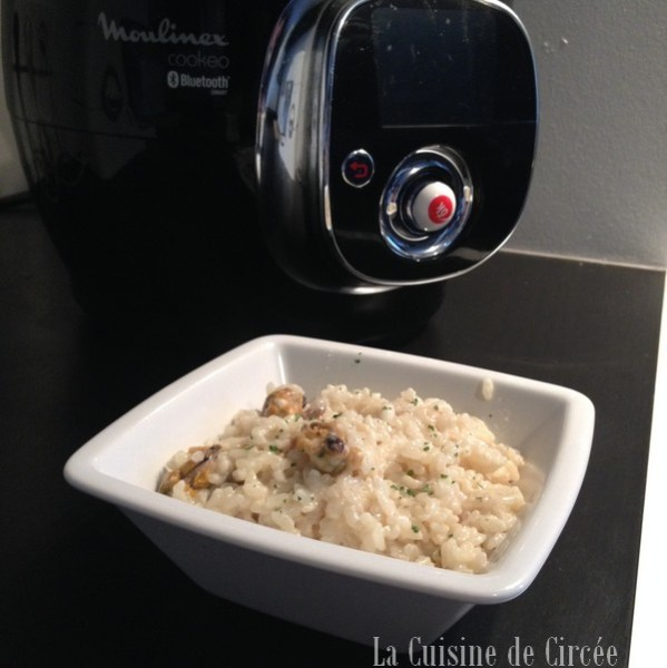 Risotto aux fruits de mer au Cookeo
