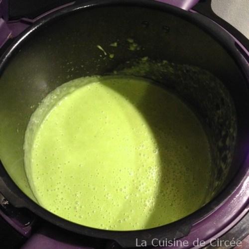 soupe pois cassés fromage frais cookeo 02