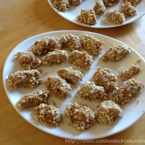 nuggets de poulet aux flocons d'avoine 04
