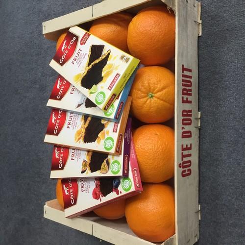 Tablettes Côte d'Or Fruit, nouveau concours