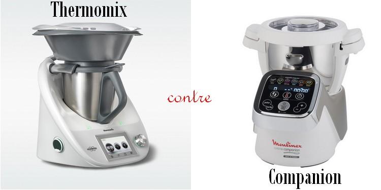 Mon test thermomix contre companion la cuisine de circ e - Ecole de cuisine thermomix ...