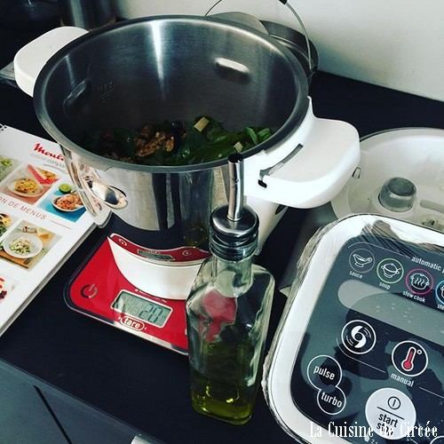 Mon test thermomix contre companion la cuisine de circ e for Le prix du thermomix
