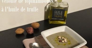 Velouté de topinambours à l'huile de truffe
