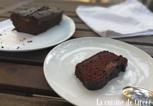 Cake au chocolat végétalien au Cooking Chef Gourmet