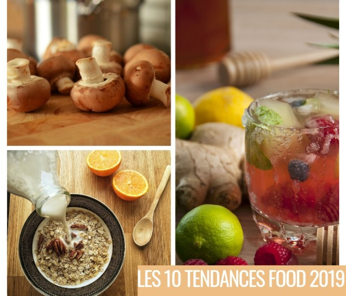 Les 10 tendances Food 2019 par Pinterest