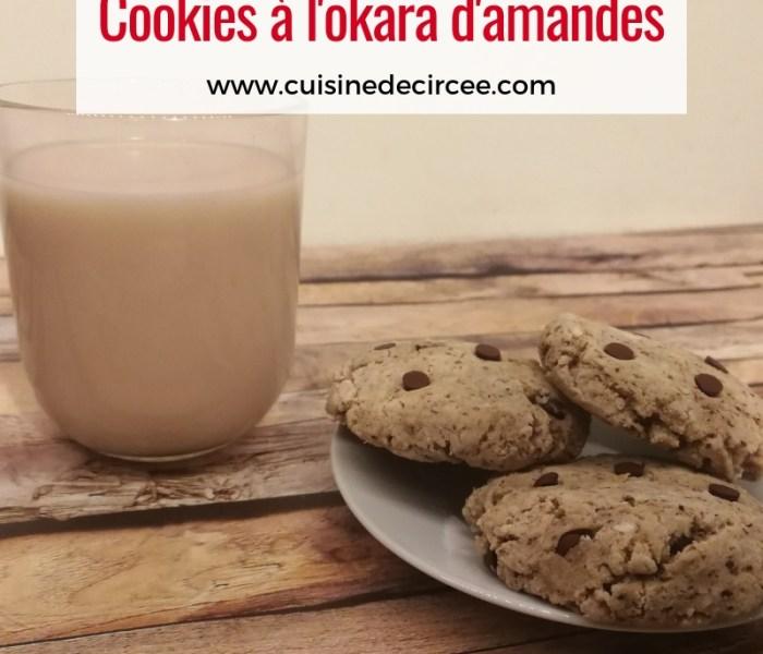 Cookies à l'okara d'amandes